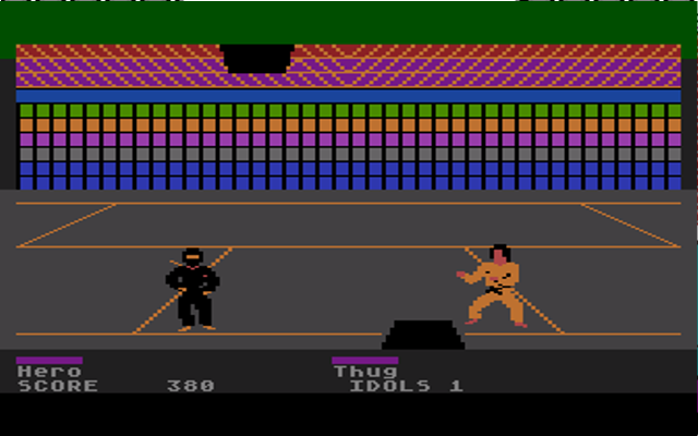 The appropriately named Rainbow Room (Atari 8 Bit)
