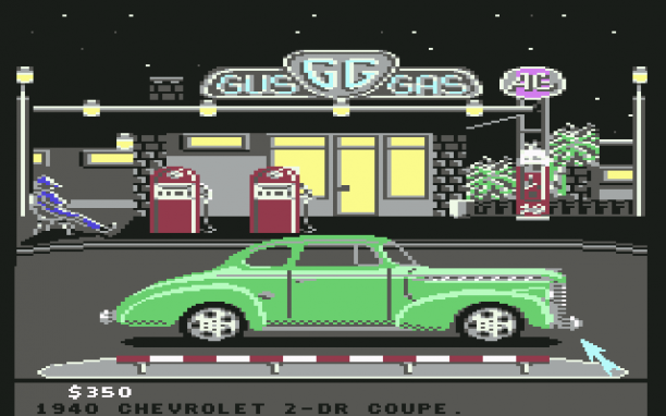 Don't forget to get gas (C64)