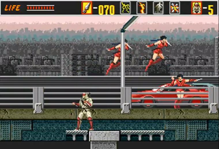 the revenge of shinobi arcade