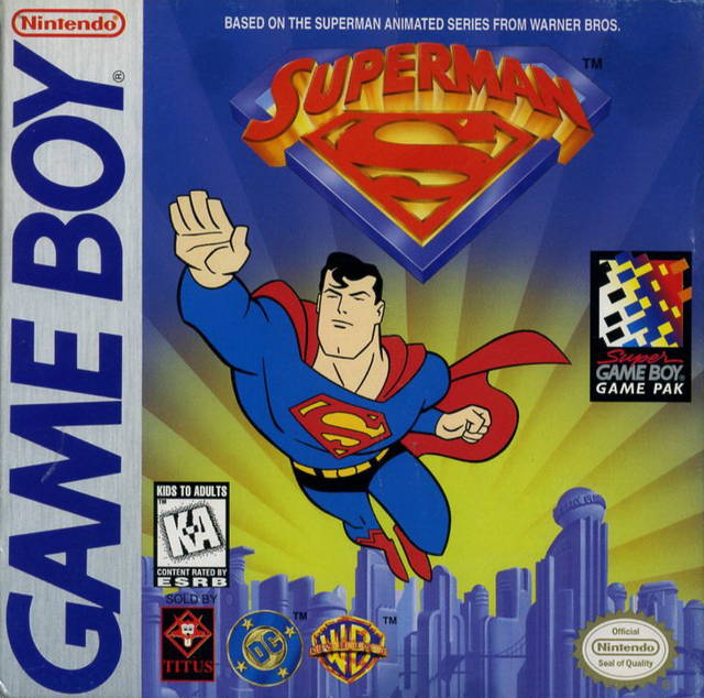 Superman Game Boy
