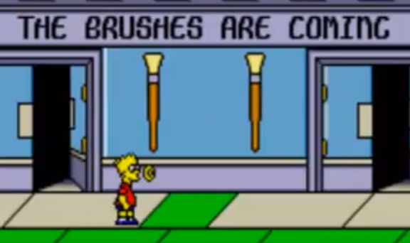 Simpsons Brushes