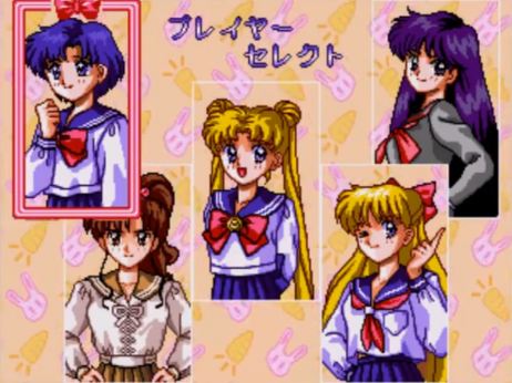 Characters Sailor Moon