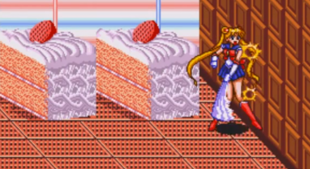 Chocolate Wall Sailor Moon