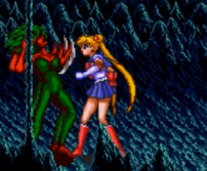 Doubles Sailor Moon