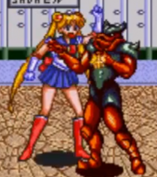 Sailor Moon Punch