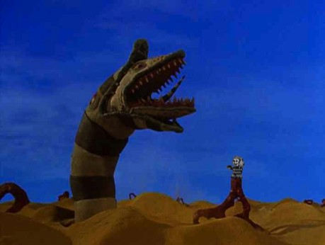 Sandworms Beetlejuice