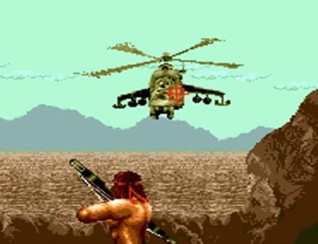 Rambo vs Copter