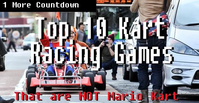 Top 10 Kart Racing Games (That Are Not Mario Kart) | 1 More