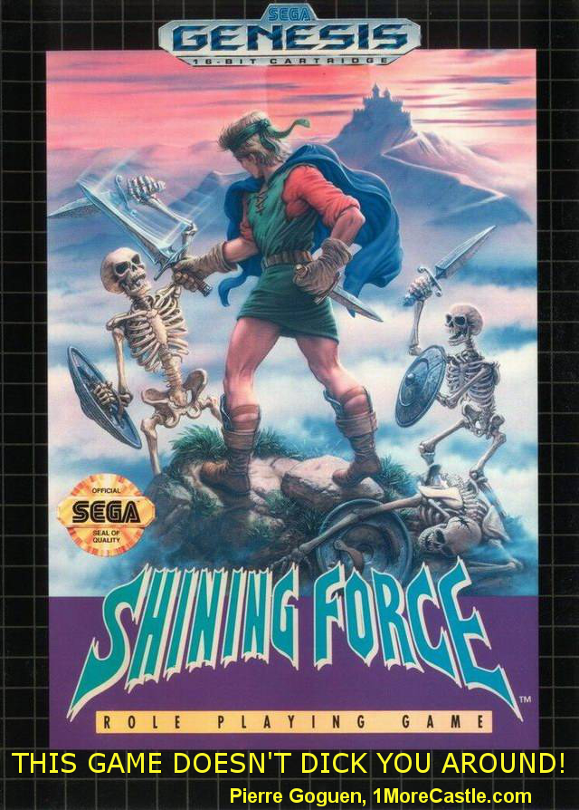 Shining Force - Promo Quote