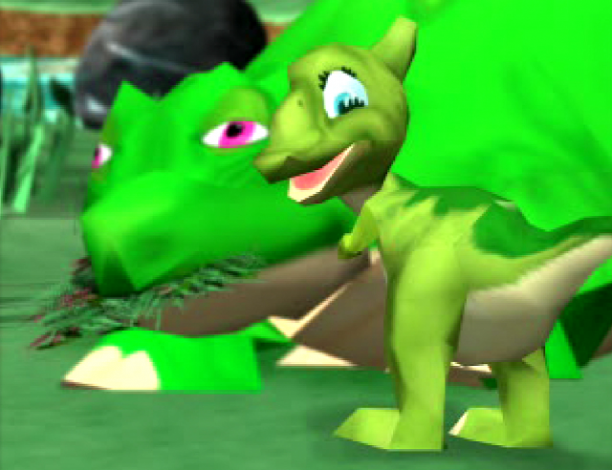 Either Spike's stoned out of his mind, or the cutscene budget's just very limited.
