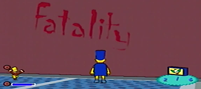 Fatality Simpsons