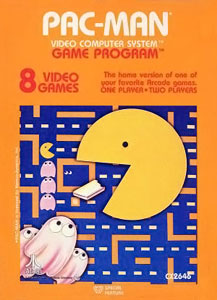 Pac-Man for the Atari 2600 (1982)